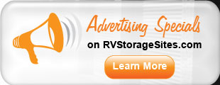 Click to Learn About RVStorageSites.com Advertising Specials